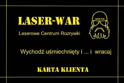 Karta Klienta LASER-WAR
