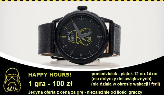 Happy Hours w LASER-WAR